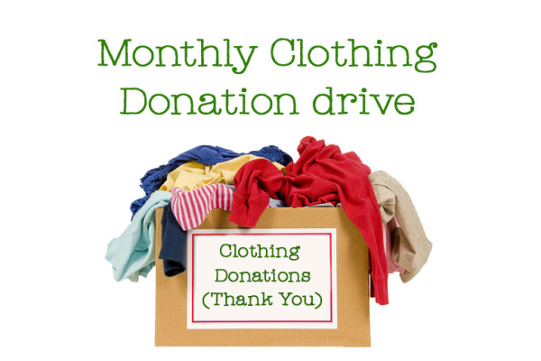 Ahaban Clothing Donation Drive