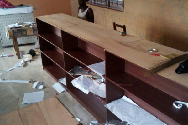 Refurbishing The Gomoa Fetteh Community School Library