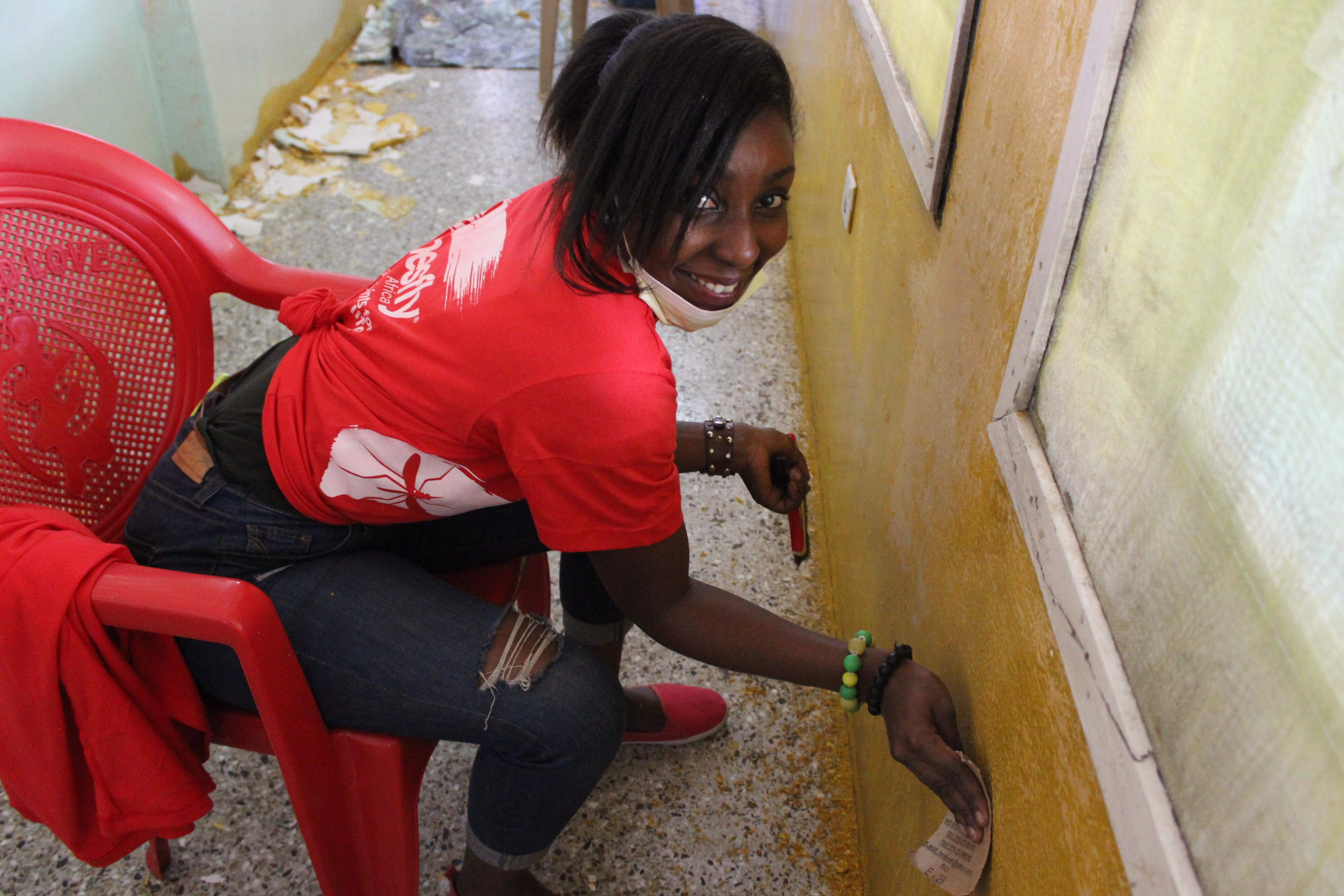 Princess Marie-Louie Children's Hospital Painting Project