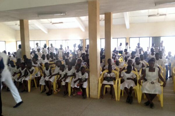Donation to Cape Coast School of Deaf & Blind