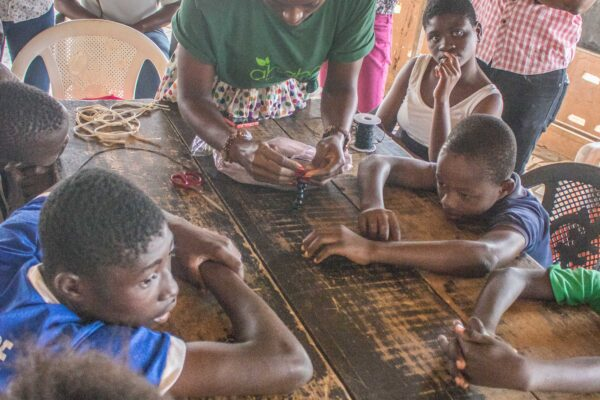 #AhabanGreenCamp 2 – Bead Making And Painting Session