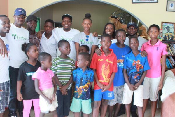 Latex Foam & Ahaban GLF donate to the Teshie Orphanage Home