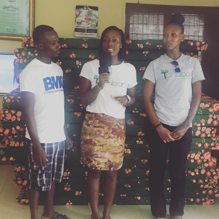 Latex Foam & Ahaban GLF donate to the Teshie Orphanage Home