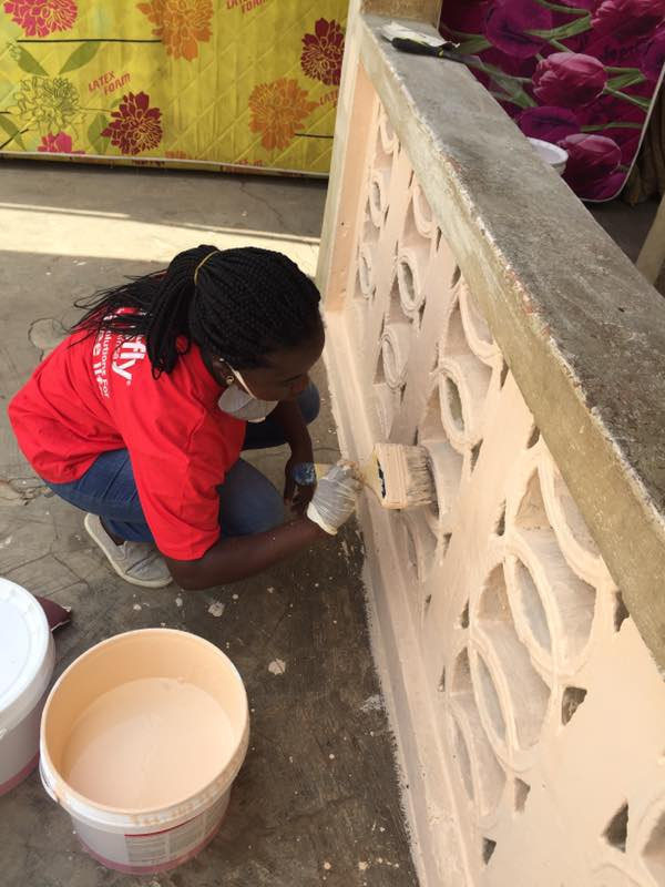 Inesfly/Ahaban GLF CHPS (Community Health Based Planning & Services) Compound Painting Project