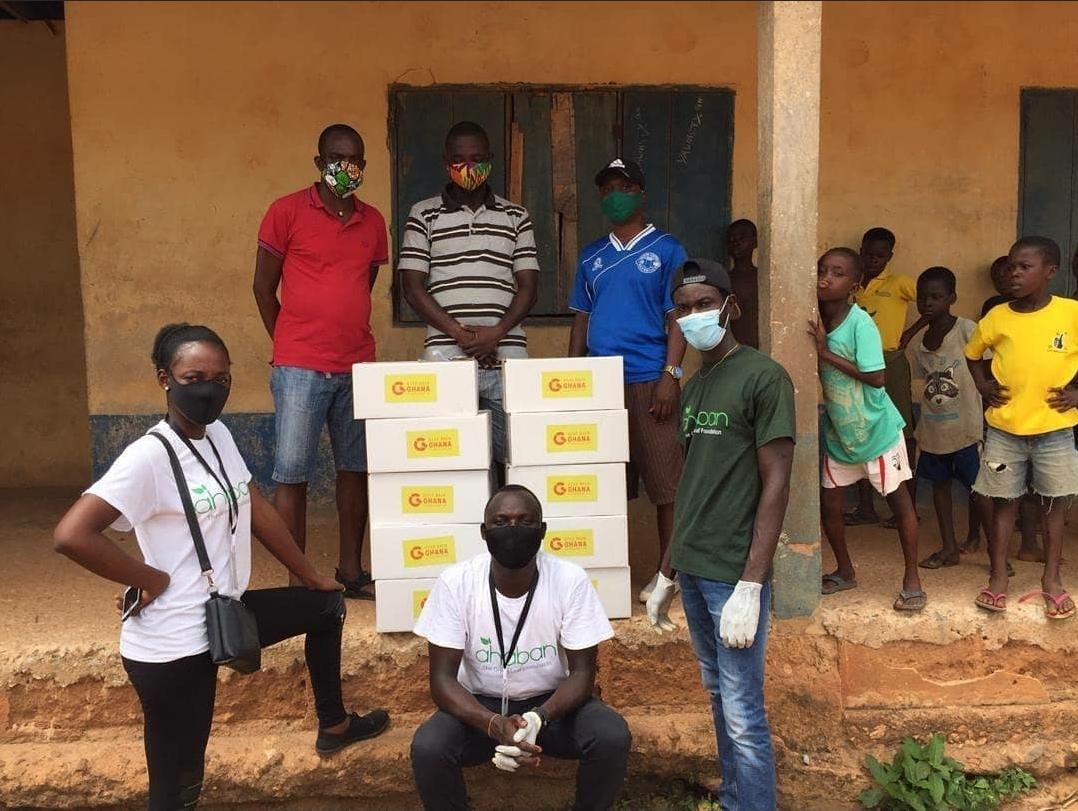 COVID-19 Relief Program ~ Gomoa Fetteh Donation